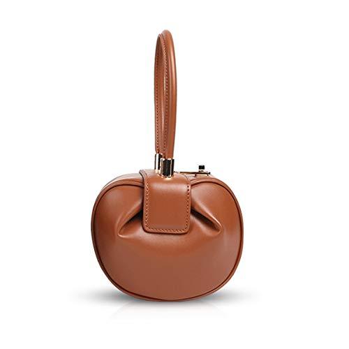 Fashion Da Doris Pelle Handmade Nicoleamp; Clutch Vintage Donna Tracolla Borse Vera Retro Mini A Marrone In Borsa Mano New Portatile X8nOPk0w