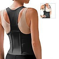 SPECIAL PACK OF 3-Cincher Female Back Support Large Black by Marble Medical