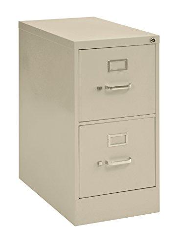 Muscle Rack VFLT222-07 Letter Size Steel Vertical File Cabinet, 2 Drawer, 22