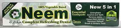 Thing need consider when find neem toothpaste 5 in 1?