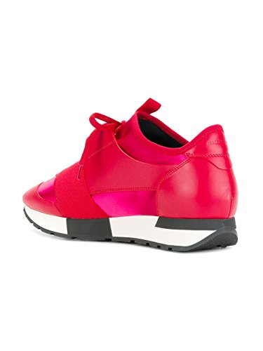 Rot Damen Leder Sneakers Balenciaga 500587W07E1 4qAwxE
