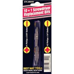 Top Screwdriver Double End Bits