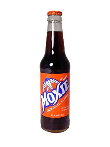 Moxie Elixir Cola, 12 Ounce (12 Bottles)