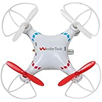 WonderTech Vortex 6-Axis RC 6-Axis Gyro Remote Control Quadcopter Flying Drone with LED Lights | White