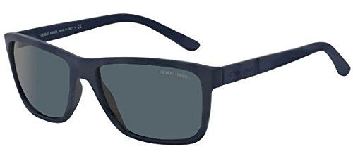 Giorgio Armani Unisex Sonnenbrille AR8046, Schwarz (Matte Black 506381), One size (Herstellergröße: 58)