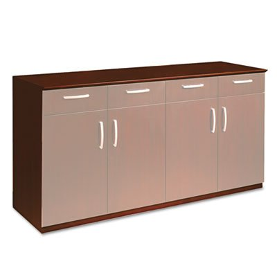 MAYLINE COMPANY Wood Veneer Buffet Credenza Cabinet, 72w x 22d x 36h, Sierra Cherry, Sold as 1 Each -  - sideboards-buffets, kitchen-dining-room-furniture, kitchen-dining-room - 31LPBKNA4%2BL. SS400  -