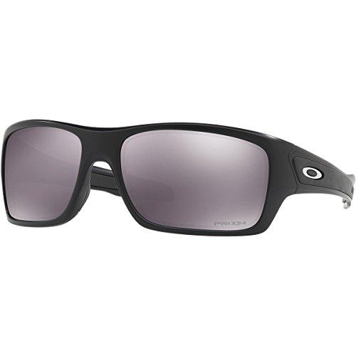 Oakley Men's Turbine Non-Polarized Iridium Rectangular Sunglasses, Matte Black, 63.02 - Matte Oakley