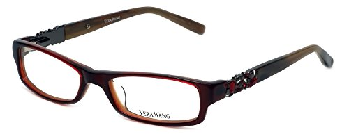 VERA WANG Eyeglasses V083 Crimson 50MM
