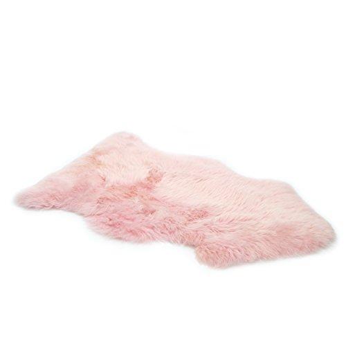 Fell teppich rosa  Vendôme premium Lammfell Schaffell 95cm, ökologisch gegerbt ...