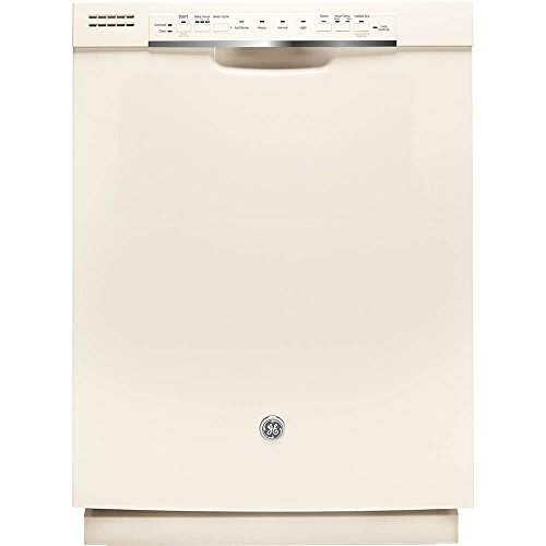 GE GDF570SGJCC 24″ Built In Full Console Dishwasher with 4 Wash Cycles, in Bisque