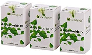Super-Absorption Astragaloside iv at 98 50mg Cap, 180 caps in 3 Bottles