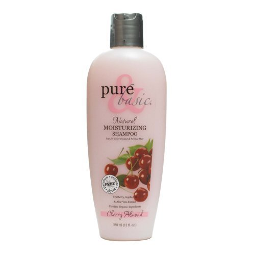 Basic Cherry Almond - Pure and Basic Body Wash, Cherry Almond, 12 Fluid Ounce by Pure & Basic