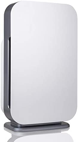 Alen BreatheSmart 45i HEPA Air Purifier for Rooms, 800 SqFt. Coverage Area, with HEPA Filter for Allergies, Dust, Dander, and Fur in White
