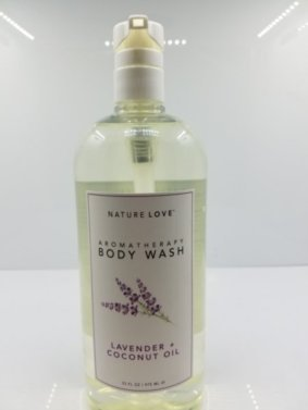 Nature Love Moisturizing Body Wash, Lavender and Coconut Oil