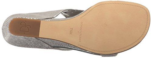 Donald J Pliner Women's Daun Wedge Sandal Silver outlet best low shipping cheap online fashion Style cheap online brand new unisex sale online Vgjep