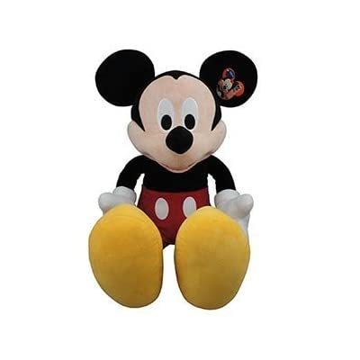 "Gigantic! 48"" Tall Disney Mickey Mouse Plush Doll: Toys & Games"