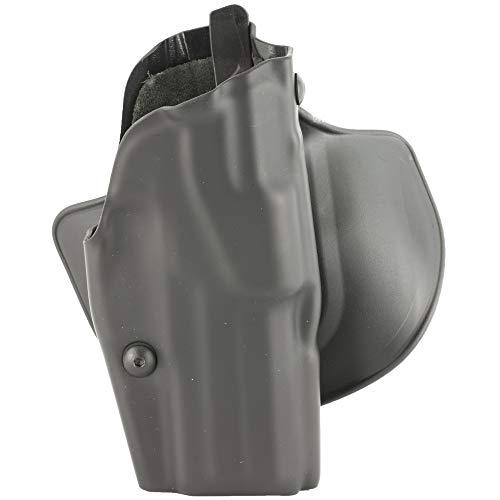 Slide Belt Hip Concealment Holster - Safariland 7377 7TS ALS Belt Slide Concealment Holster, Glock 17, 22, Plain Black, 7377-83-411
