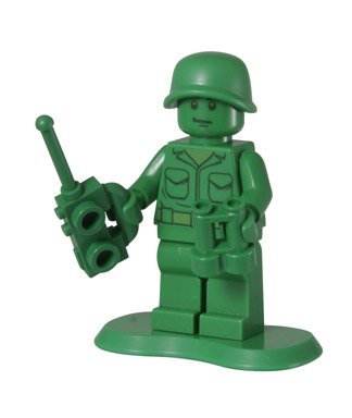 Green Army Man (Scout) - LEGO Toy Story Minifigure