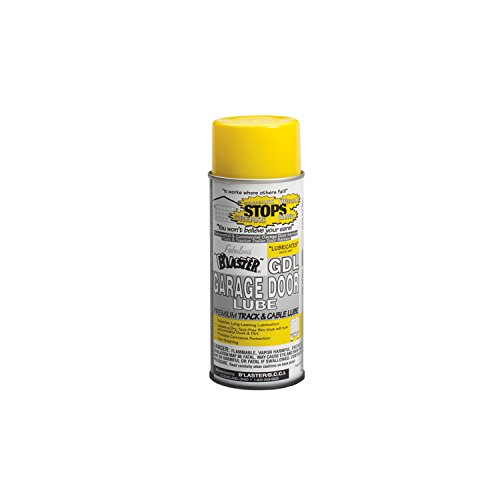 B'laster 16-GDL-12PK Premium Silicone Garage Door Lubricant - 9.3-Ounces - Case of 12