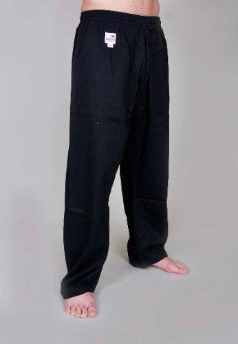 Orkansports–Pantalones de algodón Kick–Pantalones para karate 8oz