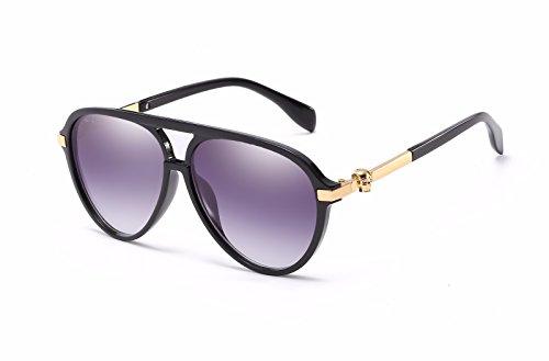 Retro de Gafas Personalidad de Mujer polarizadas C E Ojos Gafas Intellectuality Sol Hombre Sol de dY1xP17n