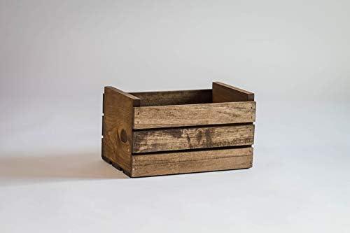DarlaStudio 66 - Caja de madera para discos de vinilo (45 rpm ...