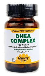 Country Life DHEA Complex for Women, 60-Count