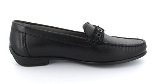 ara Damen Boston Slipper Schwarz