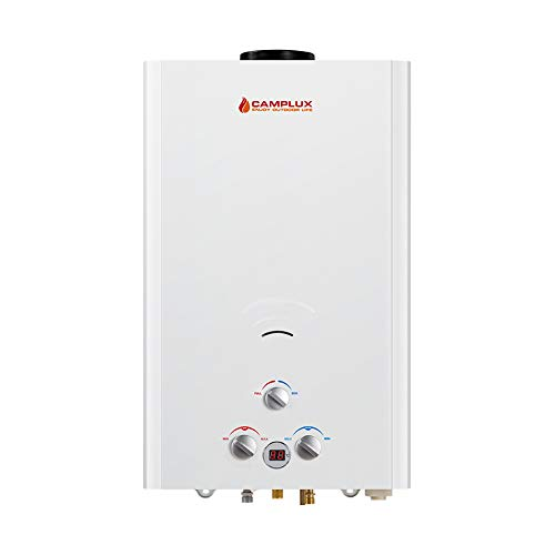 Portable Gas Tankless Water Heater Propane Instant Hot Shower Outdoor Camping RV