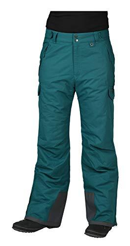 (Arctix Men's Snow Sports Cargo Pants, Dark Teal, Small/Regular)