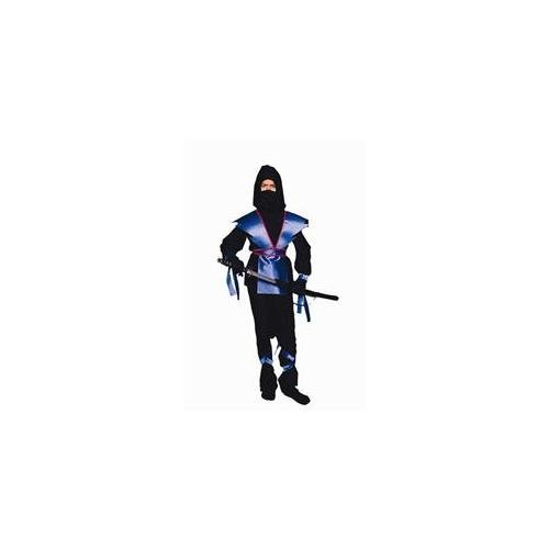 Kids Blue Ninja Costume - RG Costumes Ninja Master, Child Medium/Size 8-10