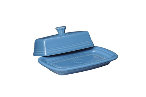 Fiesta Covered Butter Dish, X-Large, Peacock