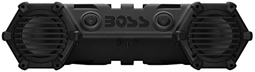 BOSS AUDIO ATV28B Powersports Plug and Play Audio System with Weather Proof 6.5 Inch Component Speakers, Built in 450 Watt Amp. by BOSS Audio (Image #1)