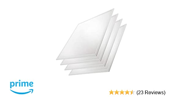 2x2 Panel/Troffer Edge-Lit Panel (4 Pack) 10 YR Warranty; 24