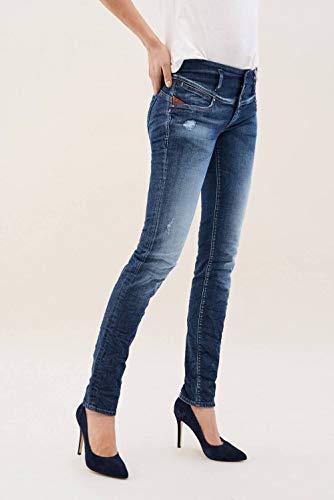 Con Salsa Nappa Azzuro In Jeans Dettagli Mystery 6qwTSnBqp
