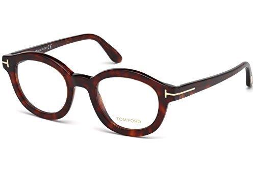 Tom Ford FT5460 Eyeglasses 49 054 Red Havana