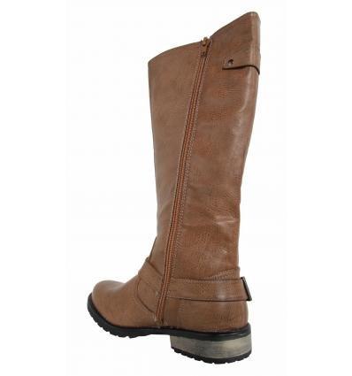 Boots für Damen MTNG 51443 BALSAM TAUPE