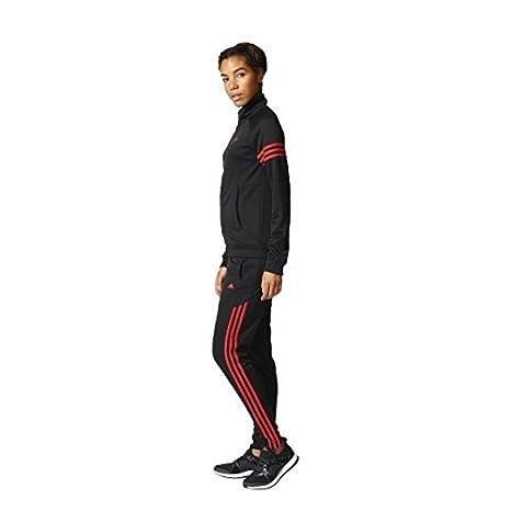 Mujer adidas Teamsport Suit Chandal L Negro Rojray .pl