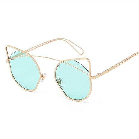 original sol las de de Gafas de nbsp; mujeres nbsp;sol reflexivas vendimia revestimiento Green de GGSSYY Gafas la marca Gafas sol de naranja del Diseño de la marca de la nbsp; YB7xZq