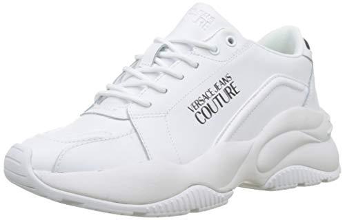 Versace Jeans Couture Women's Low-Top, White (Bianco Ottico 003), 7.5 us (Versace Jeans Women)