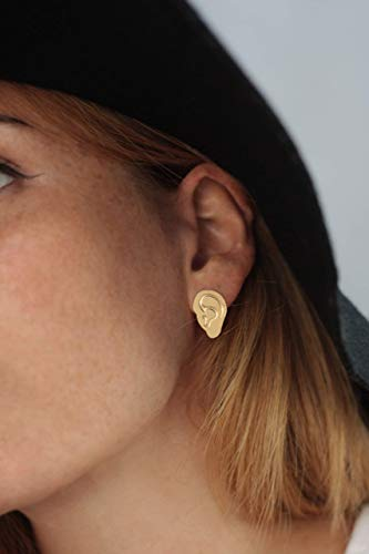 (Human Ears Stud Earrings)