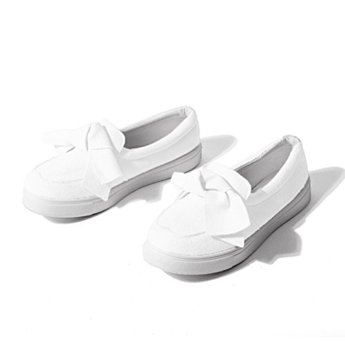 - GilesJones Loafers Flat Women,Sweet Bow Suede Platform Slip-On Moccasins Shoes