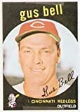 1959 Topps Regular (Baseball) Card# 365 Gus Bell of the Cincinnati Reds VG Condition