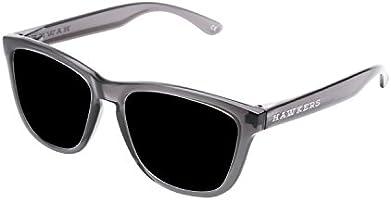 Hawkers Crystal Black Dark One, Gafas de Sol Unisex, Negro