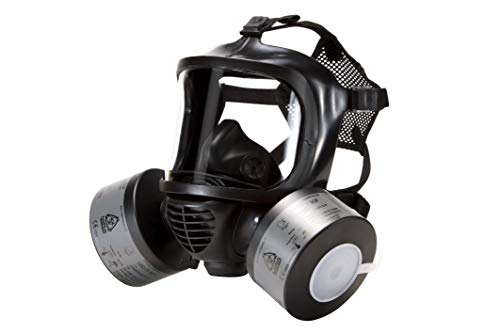 MIRA SAFETY Full Facepiece Reusable Respirator, Gas Masks CBRN Grade Respiratory Protection (Mira Mask with 2) by MIRA SAFETY M (Image #2)
