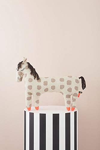OYOY - Stofftier, Kissen - Pferd Pippa - Baumwolle - H42 x L52 x B9 cm