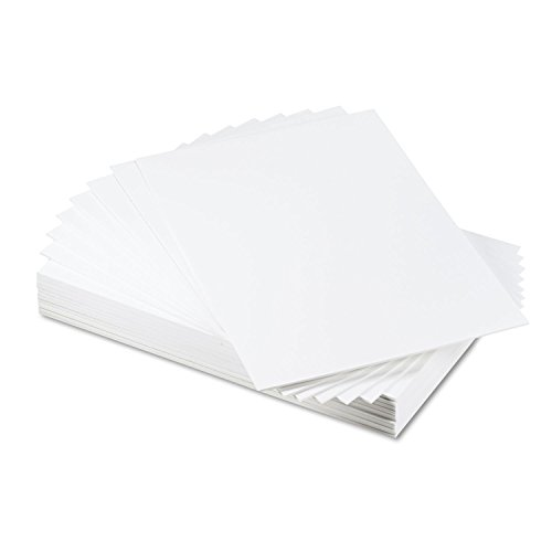 Elmer's 900109 Foam Board, White Surface with White Core, 20 x30, 25 Boards/Carton