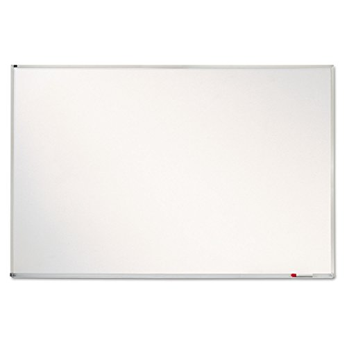 Quartet Dry Erase Board, Whiteboard / White Board, Magnetic, 4' x 6', Porcelain, Aluminum Frame (PPA406) by Quartet