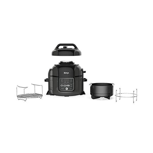 Ninja Foodi OP305 6.5 Quart TenderCrisp Pressure Cooker - Black/Gray 2