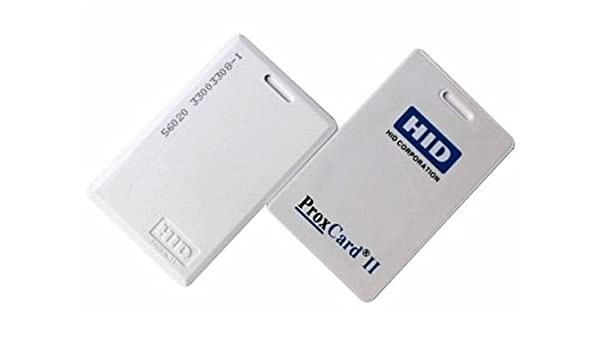 Amazon.com: HID Proximity Prox Card II 1326 Access Control Pack of ...